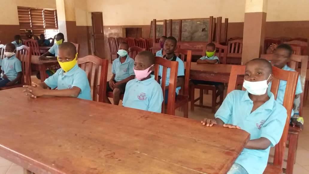 Students of School of Deaf